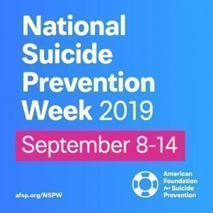 national suicide prevention week awareness help mental health