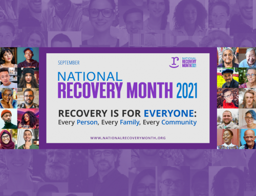 2021 National Recovery Month: RECOVERY IS FOR EVERYONE